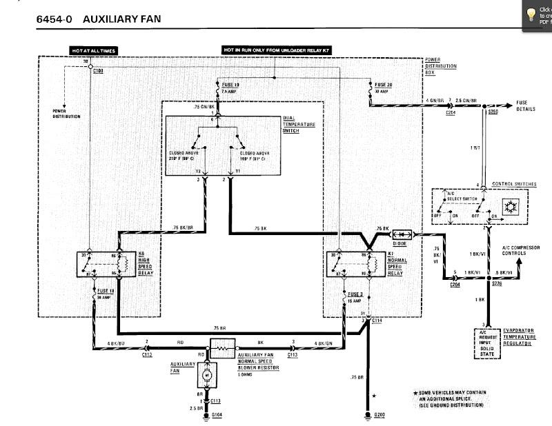 Bmw E46 Electric Fan Wiring Diagram