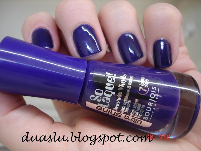 Esmalte Bleu Violet da Bourjois