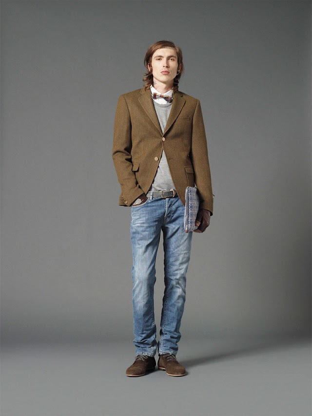 *Mauro Grifoni 和她的男人M.Grifoni Denim :Fall/Winter 2012-13 8