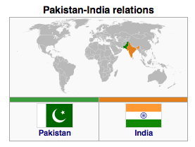 Pakistan and India relations