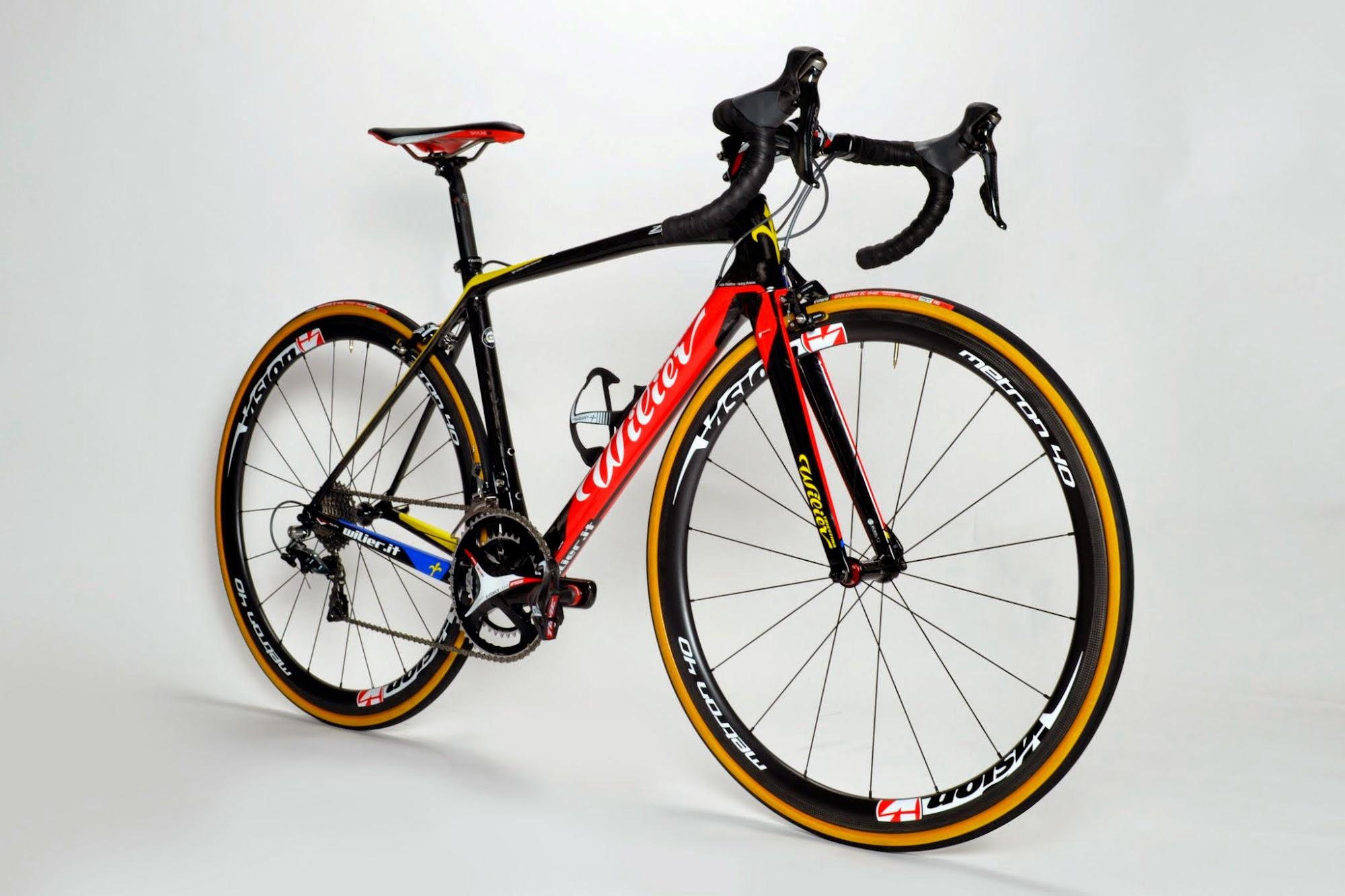 www.twohubs.com: 2015 Team Colombia Wilier Triestina Zero.7 Complete Bike at twohubs.com