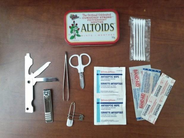 Altoids Emergency Kit