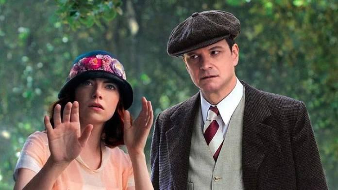 Emma Stone y Colin Firth a la sombra de Woody Allen