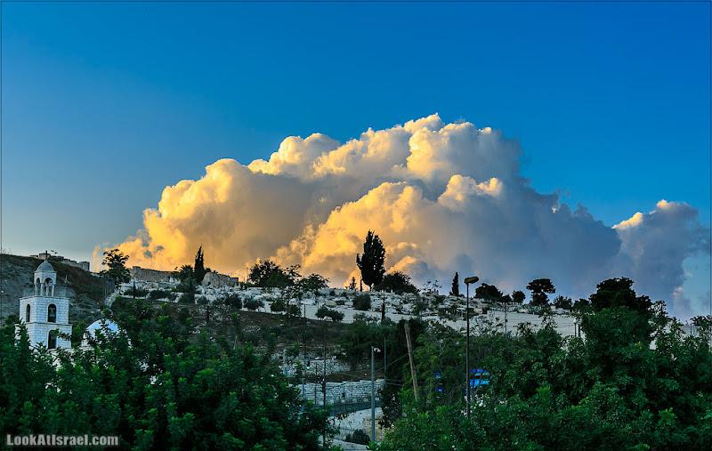 Одно фото / Иерусалим, Туча