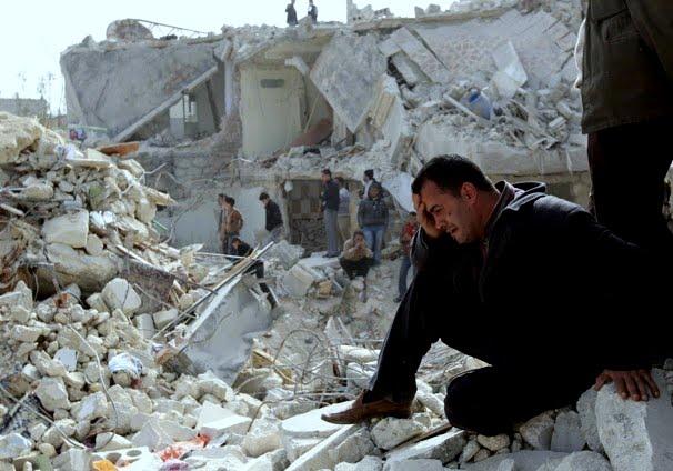 Syriens vanner ger rebellerna stod