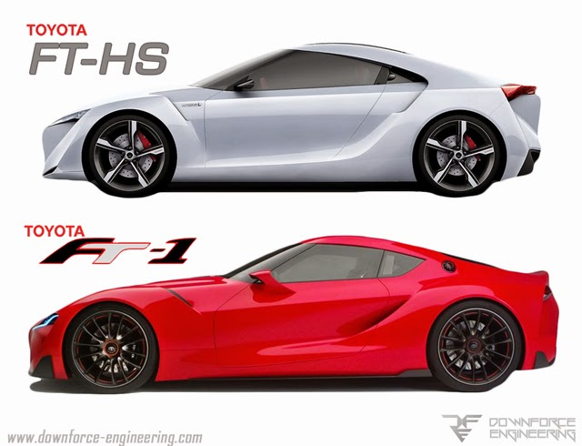 Toyota FT-HS and Toyota FT-1