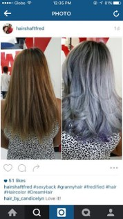 hair salon crazy funky wild colors manila hairshaft