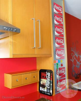 Decoración Coca Cola.