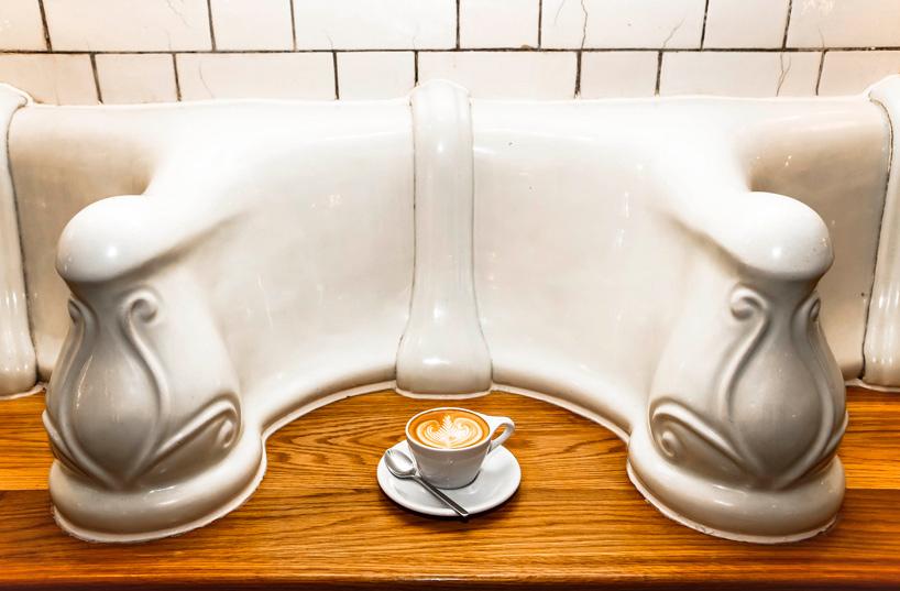 *保有60年代維多利亞風格:attendant廁所咖啡廳! 1