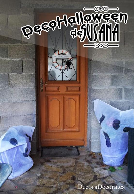Decoración Halloween exterior