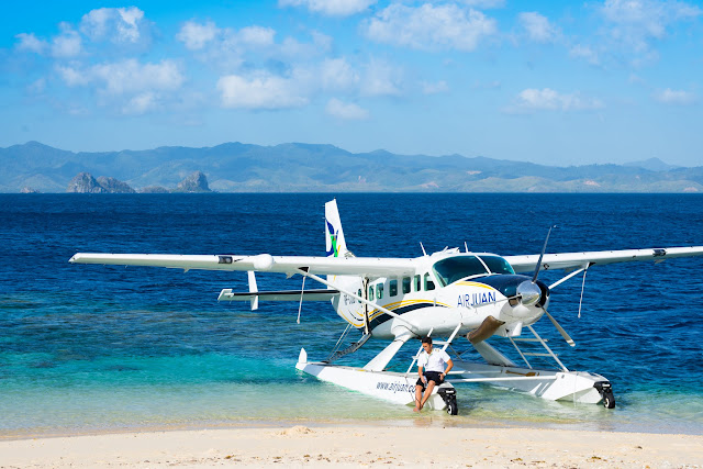 Caravan Seaplane at Noa Noa Island TayTay Philippines