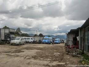Parqueadero, antiguo Humedal