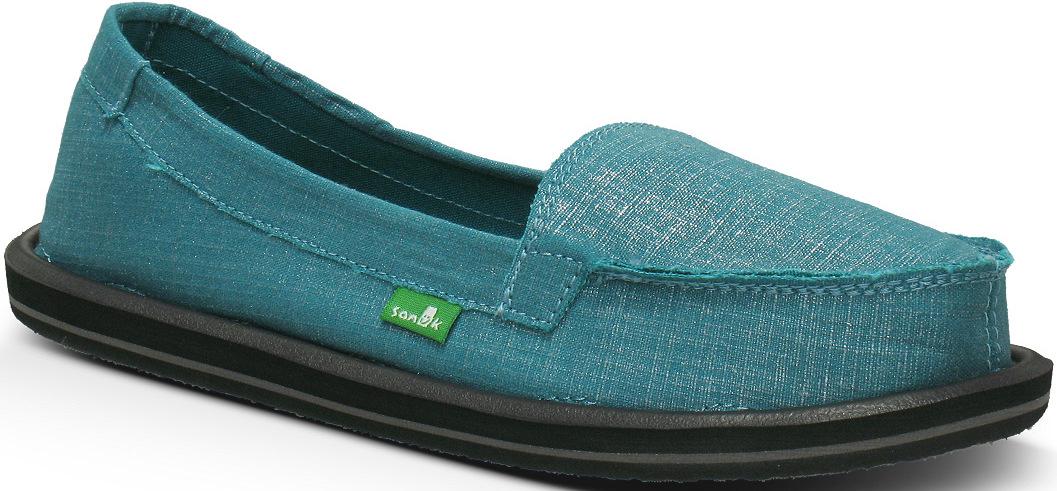 *天呀!瑜珈墊在鞋裡面!:Sanuk金屬絲質OHM MY懶人鞋! 3