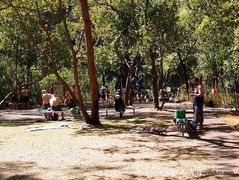 Popular place - Wanji Falls - Litchfield National Park, Northern Territory