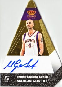 12/13 Preferred Gold Marcin Gortat Auto