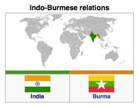 Burma (Myanmar) - India Relations