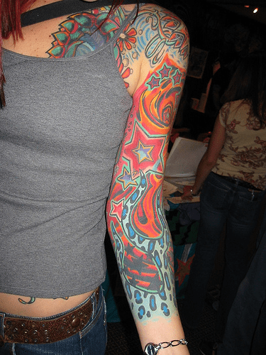 tattoos on arm for girls