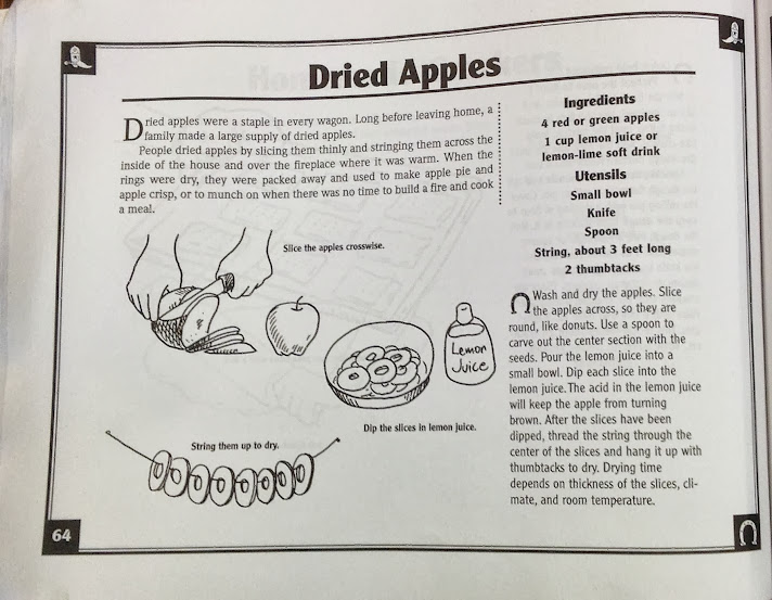 Stuff to do instead of watching TV: Drying Apples Pioneer ...