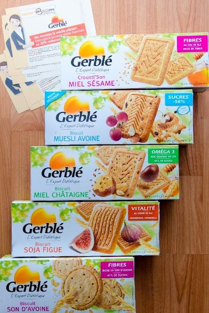 Biscuiti dietetici Gerble