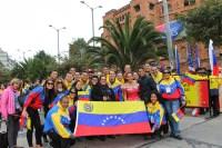 EL SISTEMA NACIONAL DE COROS PARTICIPA EN EL FESTIVAL AMERICA CANTAT. Representados por la Coral Nacional Juvenil Simón Bolívar, Venezuela se presentó en la séptima edición de este encuentro mundial, que se celebró en Bogotá con la participación de 14 coros internacionales
