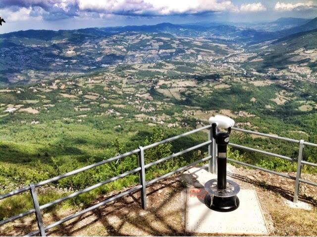 Cannocchiale Panoramico Vellardi Monte Piella di Porretta Terme