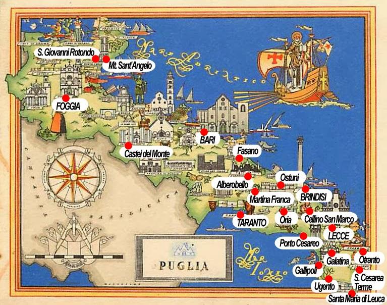 Kutra Viaggi  Agenzia Viaggi Salento  Mappa