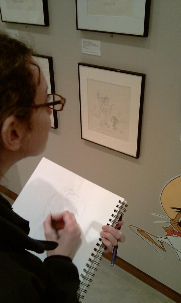 165-166 Cartoon Art Museum Field Trip