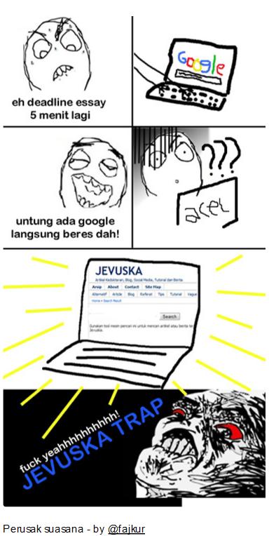 Screenshot komik tentang Jevuska