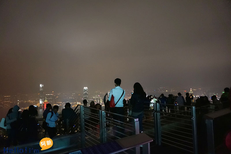 香港夜景,太平山夜景,凌霄閣摩天台428-3