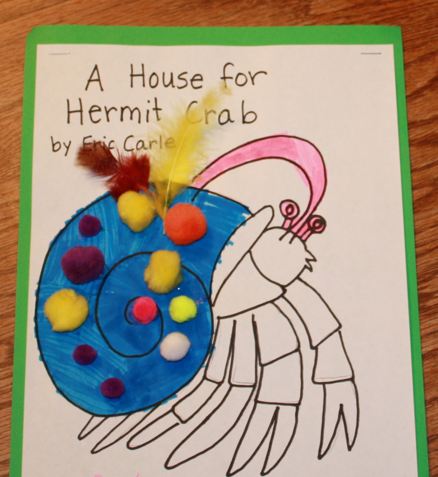 Beautiful First Grade Blue Skies A House For Hermit Crab