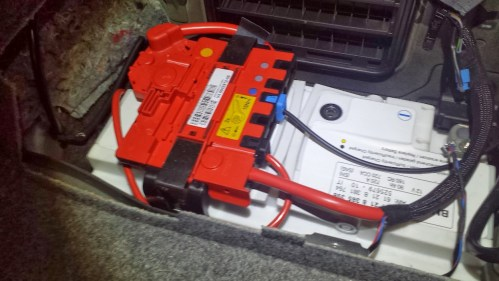 small resolution of 2007 bmw 328i battery wiring