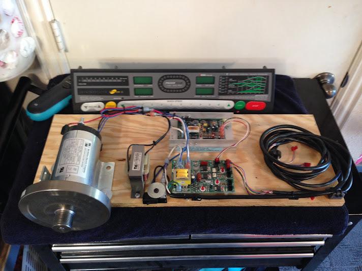 Treadmill Motor Lathe Conversion