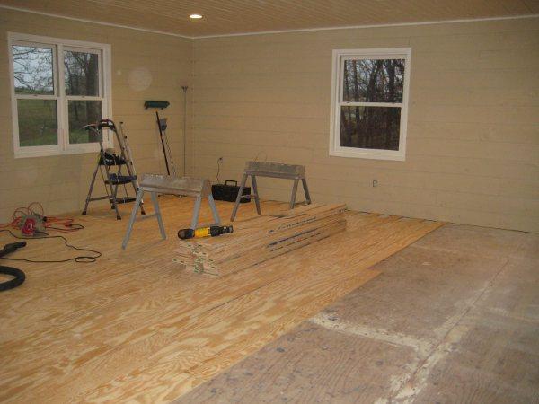 DIY: Plywood Flooring in Kids Rooms
