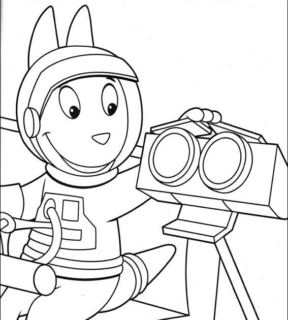 Coloring Pages for everyone: Backyardigans