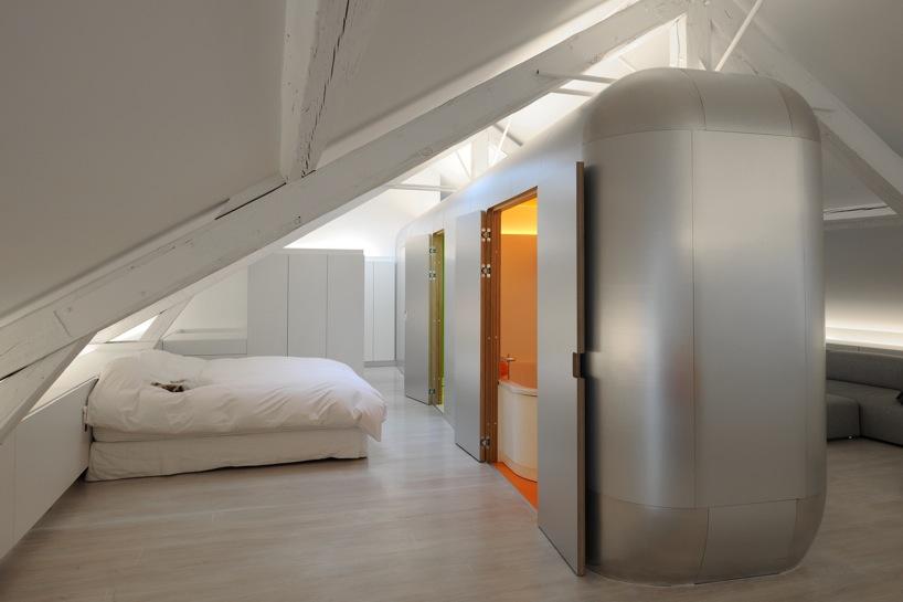 *比利時Liège的時空閣樓:Daniel Dethier柔美的衝突設計! 2