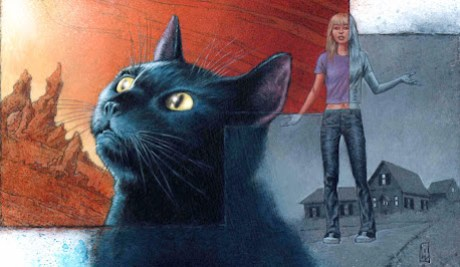 The Blue Cat by James Hudnall and Val Mayverik