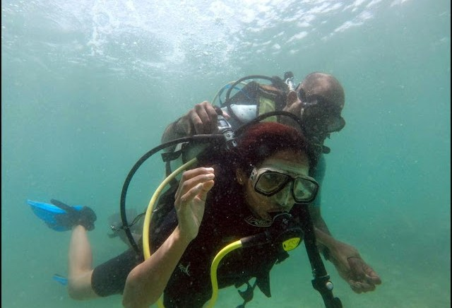 scuba diving havelock