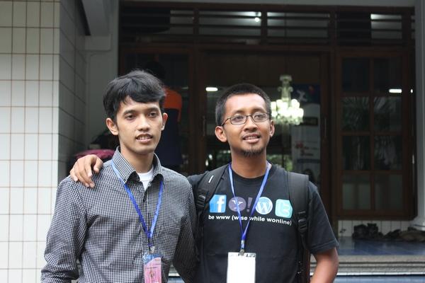 @GieWahyudi dan @Jauhari