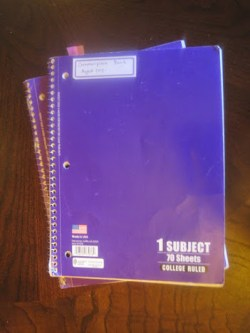 commonplace journals