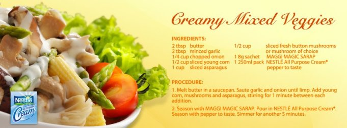 Nestle Cream Creamy Mixed Veggies
