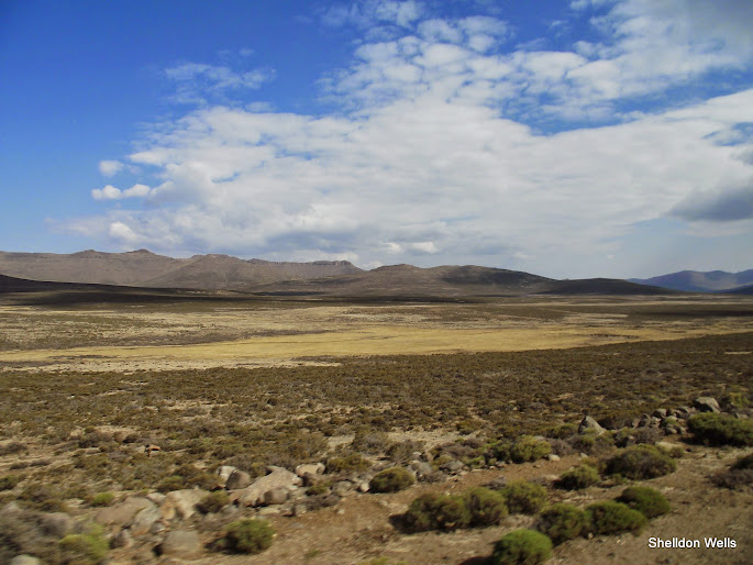 The Lesotho Flatlands