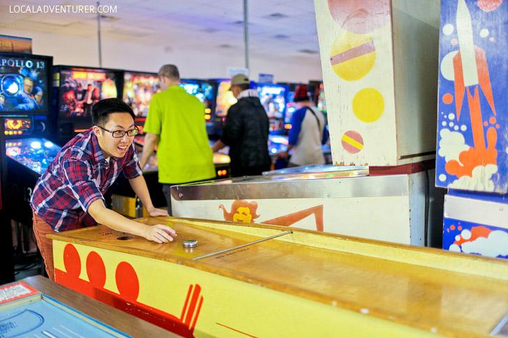 Pinball Museum Vegas - Unique Date Ideas.