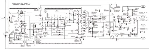 small resolution of tv power schematic wiring library panasonic tv schematics sanyo c29lf41 crt tv circuit diagram rh xn