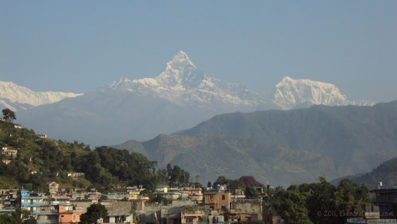 Machhapurchhre, a common imagery