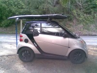 Roof Rack Yakima + Surfboard rack