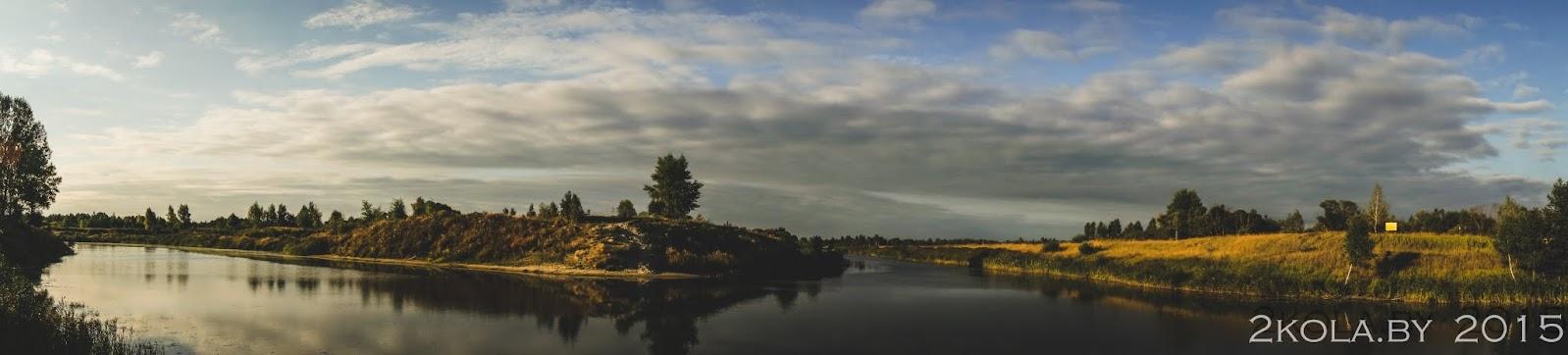 панарама Днепроўска Бугскага канала