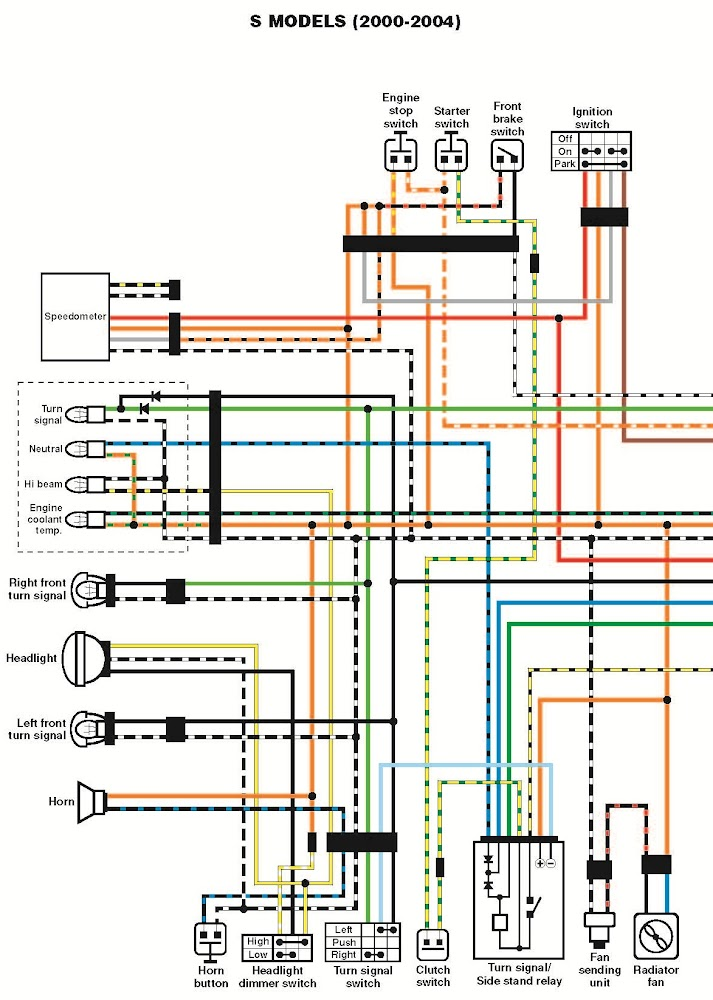 Yamaha Xt 125 Wiring Diagram Wirning Diagramsrhadamlimocarservice: Yamaha Xt 600 Wiring Diagram At Gmaili.net