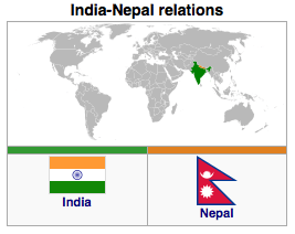 political relationship between india and nepal relations