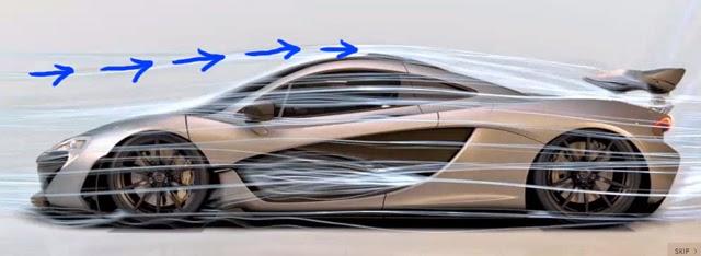 McLaren P1 Air Intake