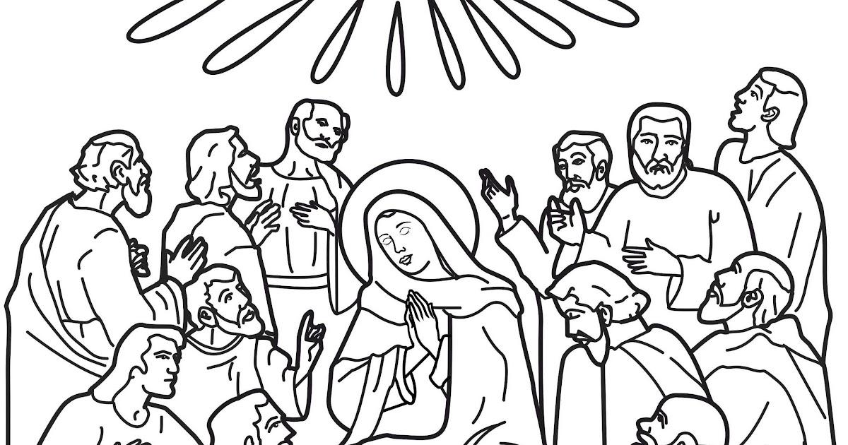 為孩子們的著色頁: Holy spirit coloring pages